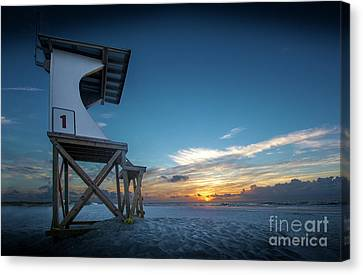 Lifeguard Canvas Print by Brian Jones
