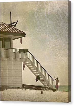 Lifeguard Daze Canvas Print by Kevin Bergen