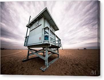Lifeguard Stand Canvas Print