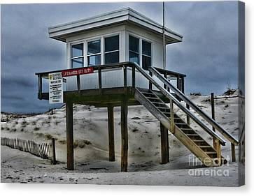 Lifeguard Station 2  Canvas Print by Paul Ward