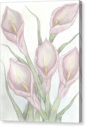 Life's Bouquet Canvas Print