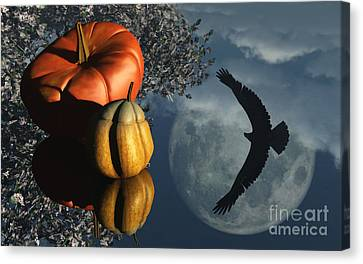 Reflection Harvest Canvas Print - Life's Reflections by Richard Rizzo
