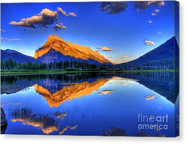 Mountain Canvas Print - Life's Reflections by Scott Mahon
