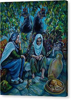 Lifetime Stories Canvas Print by Anna Duyunova
