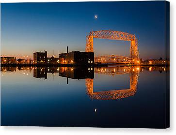 Lift Bridge Canvas Print