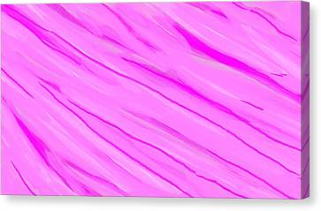 Light And Dark Pink Swirl Canvas Print
