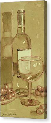 Light And Glass Two Canvas Print