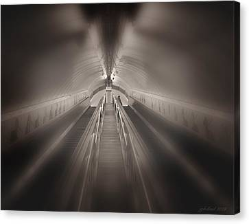 Light At The End Canvas Print by Joseph G Holland