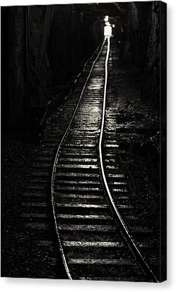 Light At The End Of The Tunnel Canvas Print by Naman Imagery