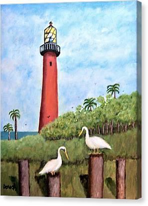 Light Beacon Canvas Print