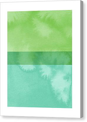 Airy Canvas Print - Light Breeze 2- Art By Linda Woods by Linda Woods