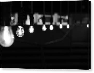 Light Canvas Print - Light Bulbs by Carl Suurmond