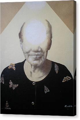 Light Face Canvas Print by Jimmy  Ovadia