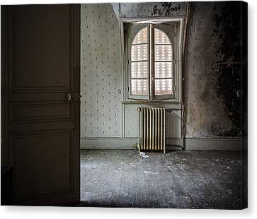 Haunted House Canvas Print - Light From Another Room - Urban Exploration by Dirk Ercken