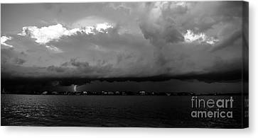 Light From The Darkness Canvas Print by David Lee Thompson