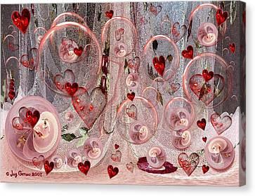 Light Hearted Canvas Print by Joy Gerow