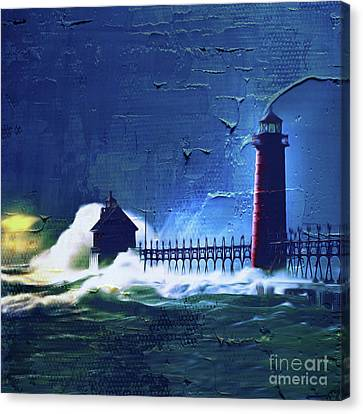 Light House 04m Canvas Print by Gull G