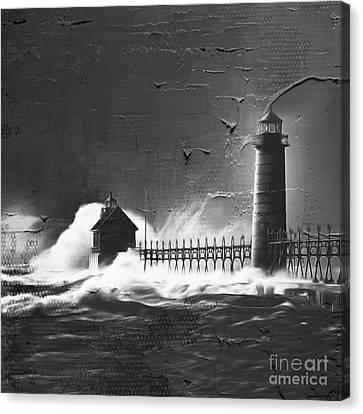 Light House 09c Canvas Print by Gull G