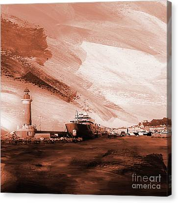 Light House 2ac Canvas Print by Gull G