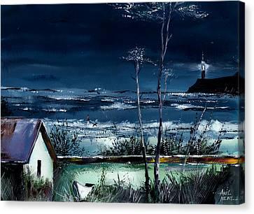 Light House Canvas Print by Anil Nene