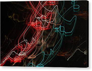 Light In Motion Canvas Print by David Lane