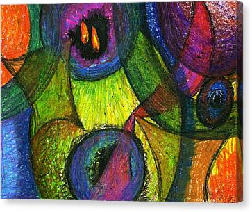 Light In The Darkness Canvas Print by Cassandra Donnelly
