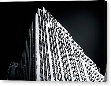 Canvas Print featuring the photograph Light In The Naked City by John Rizzuto