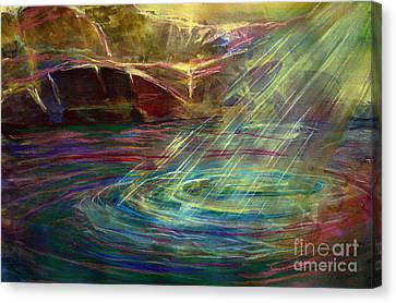 Light In Water Canvas Print