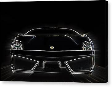 Light Lambo Canvas Print