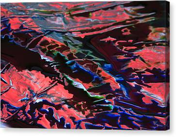 Light Metal 6 Canvas Print by Chris Rodenberg
