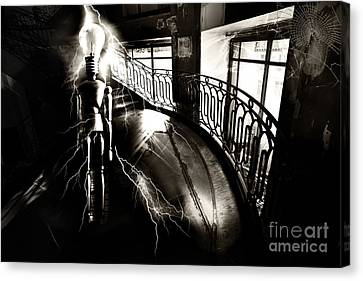 Canvas Print featuring the digital art Light by Nola Lee Kelsey