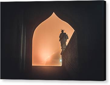 Light Of Cathedral Canvas Print