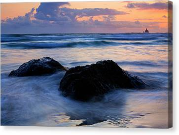 Light Of Dusk Canvas Print by Mike  Dawson