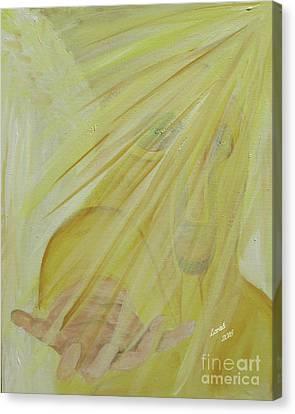 Light Of God Enfold Me Canvas Print
