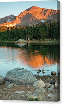 Light Of The Mountain Canvas Print