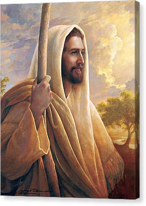 Spirit Canvas Print - Light Of The World by Greg Olsen