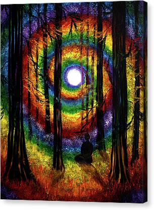 Light Of Tolerance Canvas Print by Laura Iverson