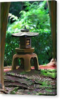 Light-on Pagoda Canvas Print