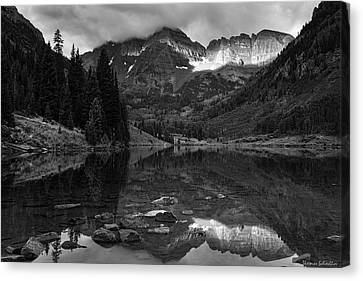 Light On The Mountains Canvas Print