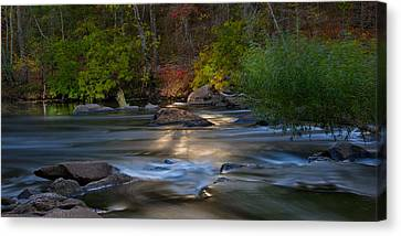 Light On The River Canvas Print