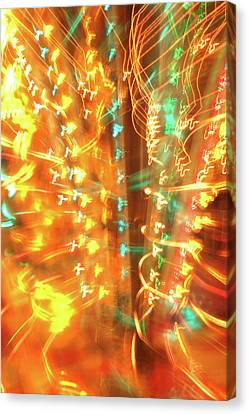 Light Painting 1 Canvas Print