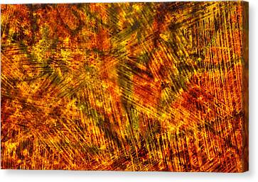 Canvas Print featuring the mixed media Light Play by Sami Tiainen