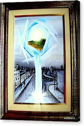 Light Portal Canvas Print by Paulo Zerbato