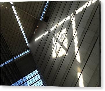Canvas Print - Light Rails by Ross Odom