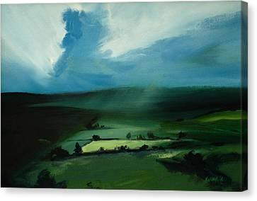 Light Squall Canvas Print by Neil McBride