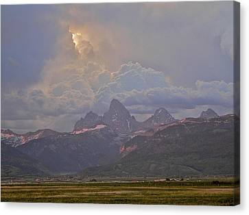 Light Storm Canvas Print by Eric Tressler