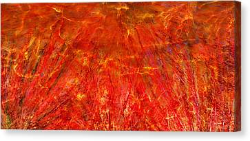 Canvas Print featuring the mixed media Light Storm by Sami Tiainen