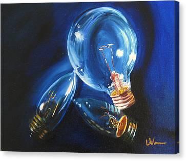 Light Up My Life Canvas Print