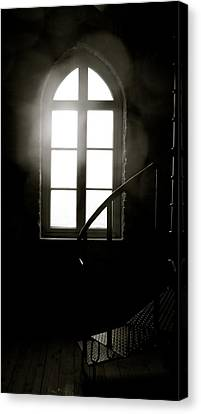 Lighted Glass Canvas Print by Sonja Anderson