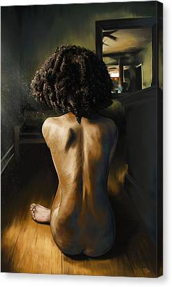 Lightened Solitude  Canvas Print